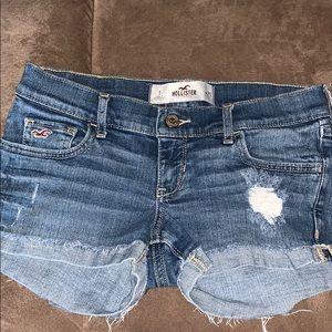 Hollister Denim Shorts Size 25